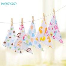Warmom Cartoon Baby Bibs Newborn Infant Feeding Burp Cloths Cute Soft Saliva Towel Kids Eating Accessory Babador Cloth