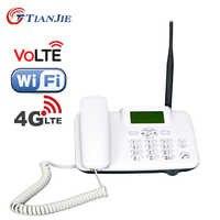 TIANJIE W101L 4G wifi routeur 4G appel vocal téléphone volte 4g ligne fixe wifi hotspot bureau sim carte slot téléphone téléphone fixe