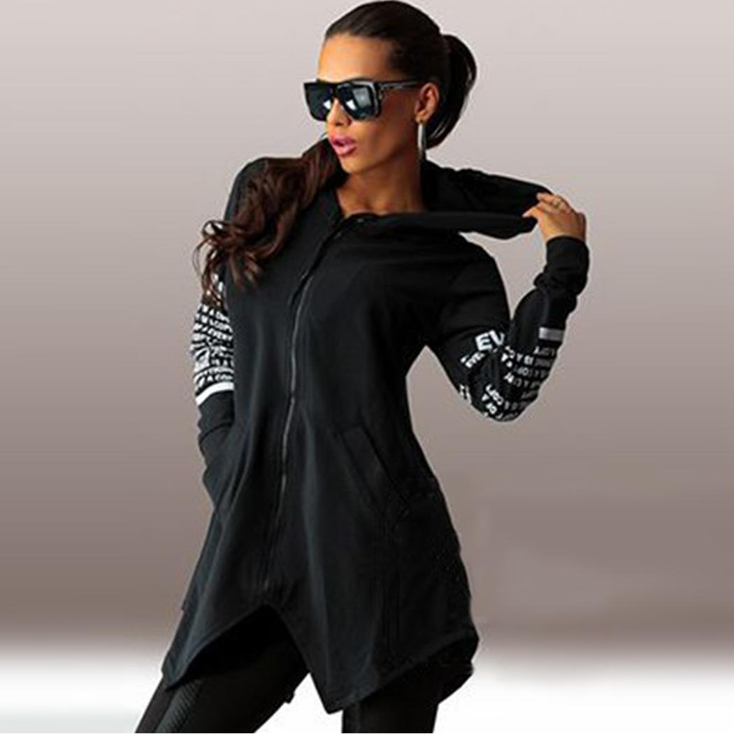 Women Hoodies Sweatshirts Autumn Winter Plus Size Long Sleeve Pocket Zipper Hoodie Female Casual Hooded Sweatshirt