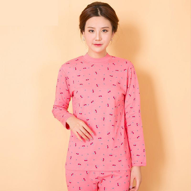 100% Cotton  Thermal Underwear Set Women Winter Clothing Xl -3xl 1449
