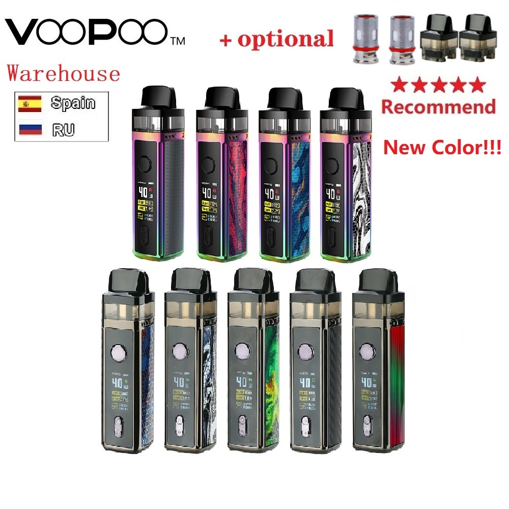 Original VOOPOO VINCI Mod Pod Vape Kit W/ 1500mAh Battery & 5.5ml Pod & New GENE.AI Chip & VW Pod System Vs Drag Nano/ Shogun