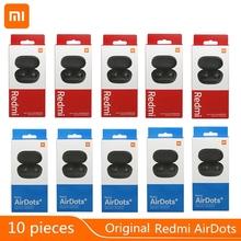 Sprzedam 10 sztuk Xiaomi Redmi AirDots 2 Bluetooth 5 0 słuchawki wodoodporne Fone Airdots 5 sztuk w niskich cenach każdego dnia AIR SE tanie tanio Słuchawki Piston w wersji młodzieżowej douszne Dynamiczny CN (pochodzenie) Prawdziwie bezprzewodowe 110dB Słuchawki do monitora