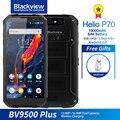 Blackview BV9500 Plus смартфон с 5 7-дюймовым дисплеем  восьмиядерным процессором Helio  ОЗУ 4 Гб  ПЗУ 64 ГБ  10000 мАч  Android 9 0