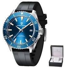 Pagani Дизайн Модные механические часы от топ бренда 100 м Водонепроницаемый