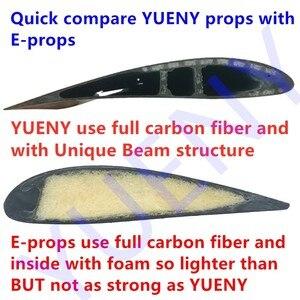 Image 4 - YUENY carbon faser motorschirm propeller powered gleitschirm propeller motorschirm helm gute qualität