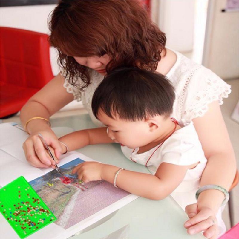 Купить с кэшбэком 5D Diamond Painting Kit, Full Drill Arts Craft Canvas Supply for Home Wall Deco
