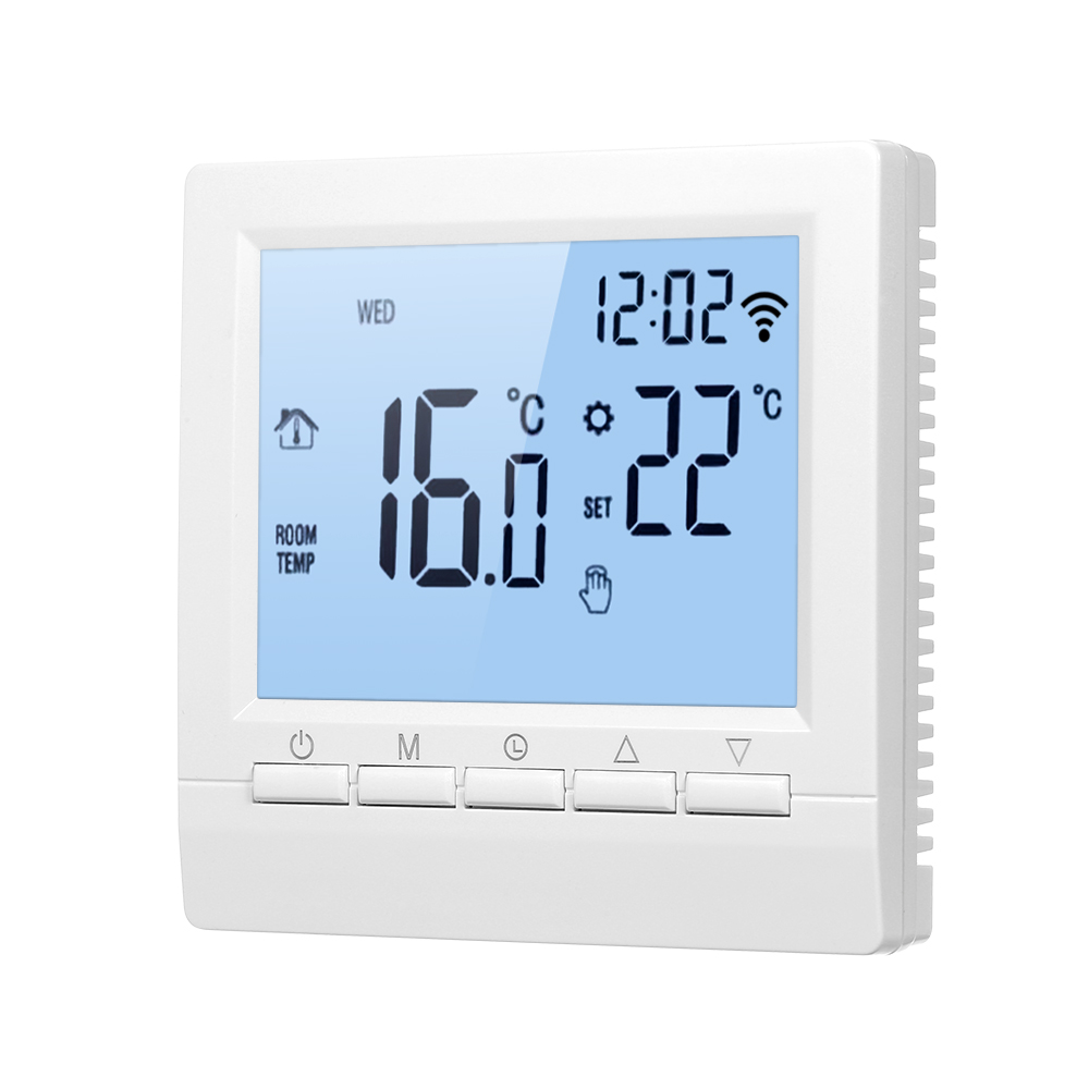 New Smart Thermostat Digital Temperature Controller LCD Display Week Programmable Electric Floor Heating Thermostat