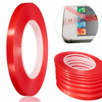 2-10mm 50M Strong Sticky Adhesive Double Side Tape For Mobile Cell Phone Repair 3m 6 8 10 15 20mm double side tape sticky office decoration supplies adhesive car screen repair accessories