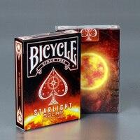 Велосипедные карты звездный свет солнечные игральные карты обычный велосипед палуба всадник задняя карта магический трюк магический рекв...