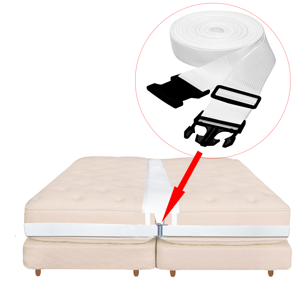 Bed Bridge Mattress Connector Twin To King Bed Gap Filler Pad Two Single Mattresses Connector Conversion Kit For Family And Hote