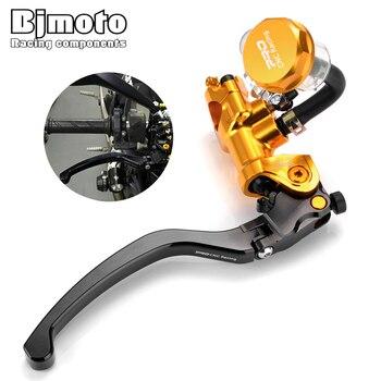 "CNC Motorcycle Front Brake Pump Lever 7/8"" 22mm Standard Handle bar For Suzuki Yamaha Kawasaki KTM 400 CC 1000 cc Dirt pit Bike"