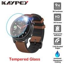 واضح فيلم الزجاج المقسى حامي الشاشة ل شاومي Huami Amazfit GTR ساعة ذكية 42/47 مللي متر ساعة ذكية واقية اكسسوارات