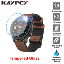 クリアフィルム強化ガラススクリーンプロテクターxiaomi huami amazfit gtr腕時計42/47ミリメートルスマート保護アクセサリー