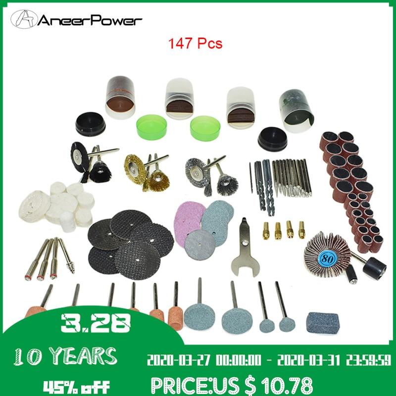 147pcs Mini Dremel Engraver Rotary Tool Accessory For Wood Metal Ceramic Plastic Drilling Polishing Grinding Carving Shaping