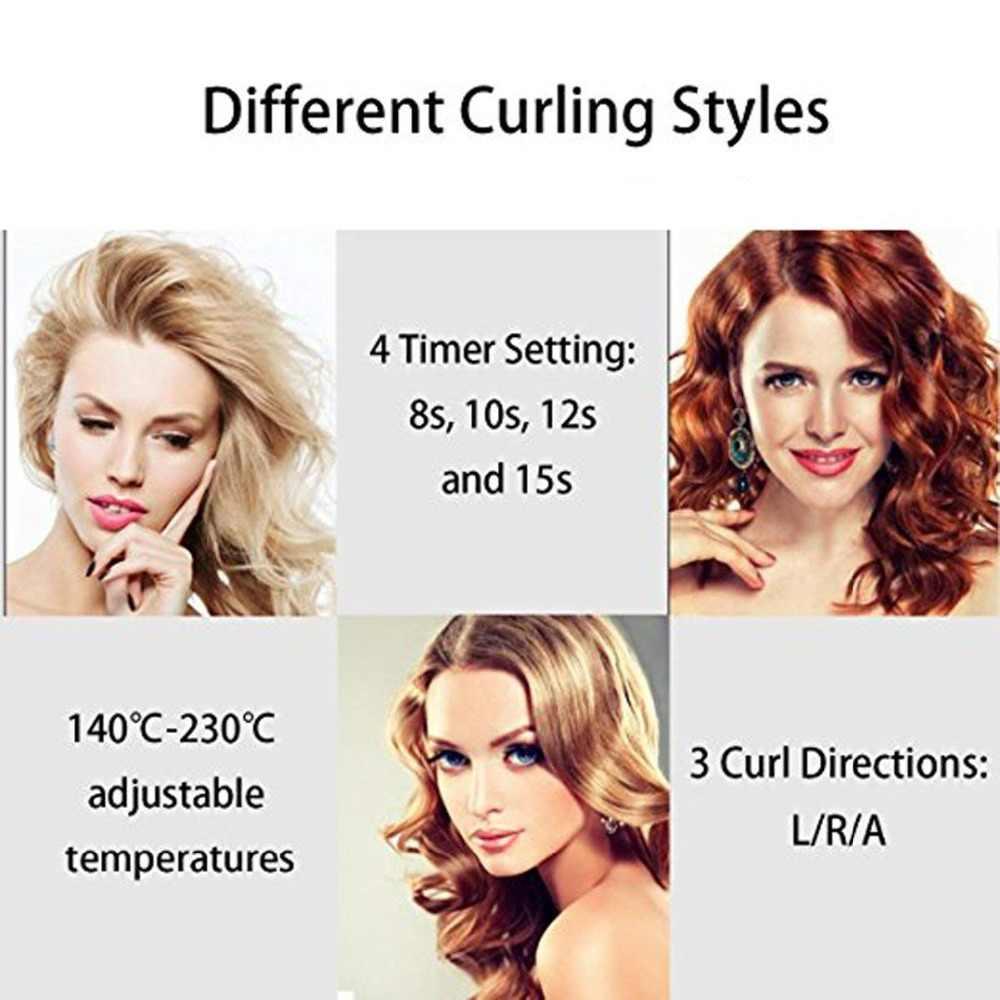LCD Professional automatische Curler Styling Werkzeuge Weibliche curlers curling Zauberstab Keramik Heizung Pflege Welle curl eisen Anti-dauerwelle