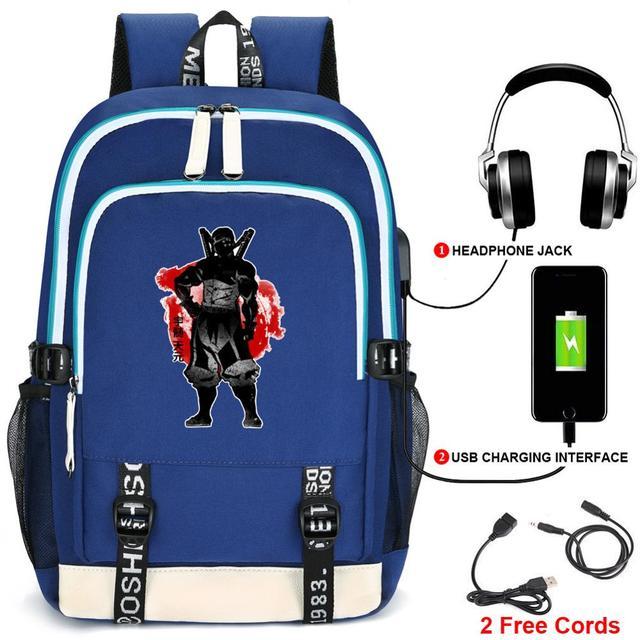 Demon Slayer: Kimetsu no Yaiba USB Charging Backpack