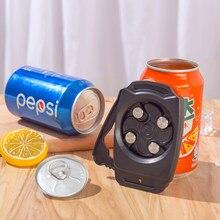 Tire-bouchon en aluminium ouvre-bouteille de bière ouvre-bouteille de bière universel ouvre-boîte manuel outil de cuisine accessoires de barre de bière
