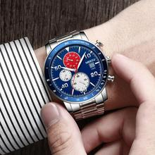 NIBOSI 2020 Watch Man Creative Male Watches Waterproof Watch Custom Design Sports Men's Wristwatch Relogio Masculino Wrist Watch