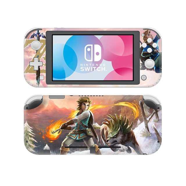 Us 4 69 6 Off The Legend Of Zelda Link S Awakening Skin Sticker Decal For Nintendo Switch Lite Console Protector Nintendo Switch Lite Skins In