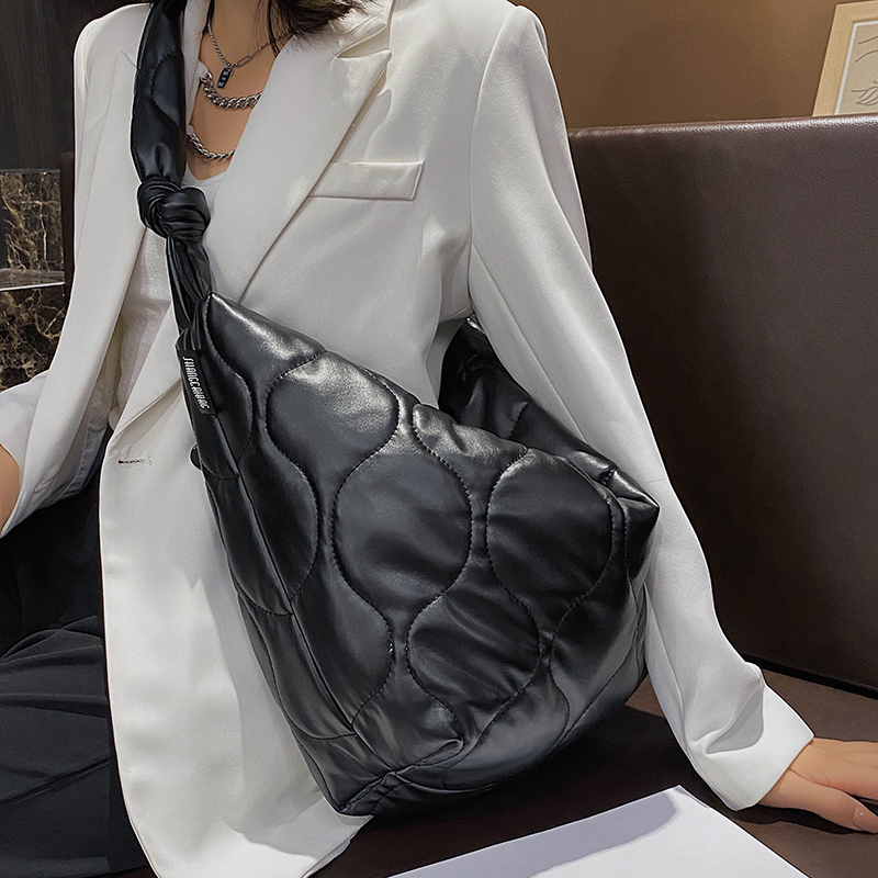 VeryMe Cloth Shoulder Bag for Women Fashion Leather Composite Women's Bags Trend Ladies Handbags Large Capacity Female Daily Bag