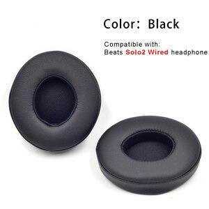 Image 4 - Defean substituição almofadas de ouvido almofada travesseiro para batidas solo2 solo2.0 solo 2 2.0 fones preto cinza azul rosa