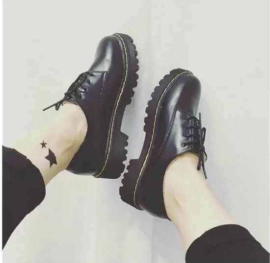 EAGSITY pembe rahat derby ayakkabı kadınlar için dantel up yuvarlak ayak bayan resmi elbise ayakkabıları oxford eğlence ayakkabı yürüyüş spor ayakkabı