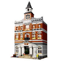 The NEW 2859pcs City Classic display Town Hall Building Bricks Block Toy bricks Set for kids gifts