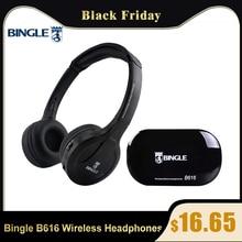 Bingle B616 Multifunktions Drahtlose Stereo Kopfhörer Auf Ohr Headset FM Radio Verdrahtete Kopfhörer Sender für MP3 PC TV Handys