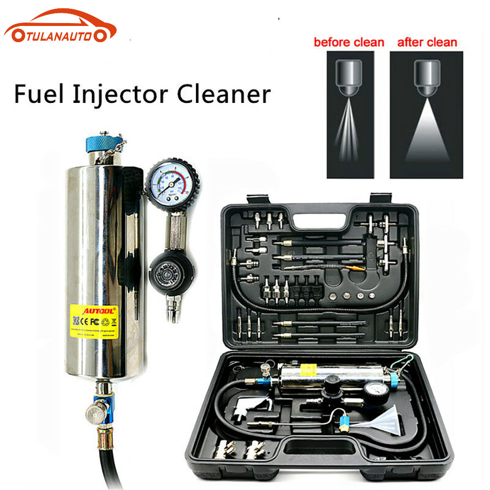 TULANAUTO  C100 Car Fuel Injectore Cleaner Non-dismantle Bottle Gasoline Auto Fuels Injector Cleaning And Testing System