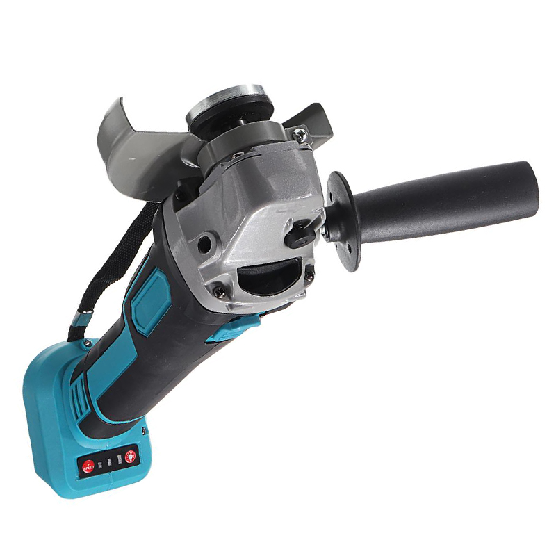 800W Power Brushless Grinder Battery Polisher 100mm Tool DIY Machine Without Impact Makita 125mm Cordless Angle For 18V Cutting