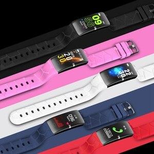 Image 5 - ג לי מסרק ספורט גברים שעון חכם ip67 דם מדידת לחץ מד צעדים חכם להקה עמיד למים נשים Smartwatch כושר מסלול