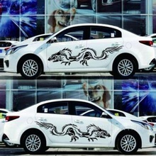 Модели общие модели длинные Тотем племенной тела наклейки украшения автомобиля автомобиль модифицированный полный