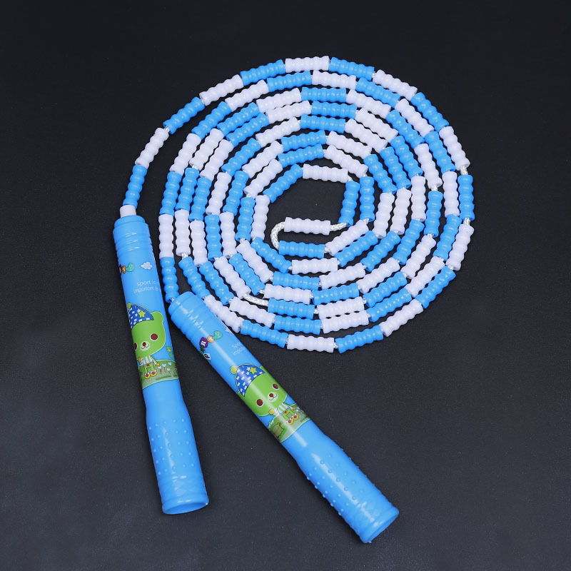 Ontop 2.4 M 3.6 M Cute Creative Pattern Soft Bamboo Joint Jump Rope Plastic Children Jump Rope Adjustable Sports