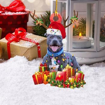 Dog Decoration Christmas Tree  3