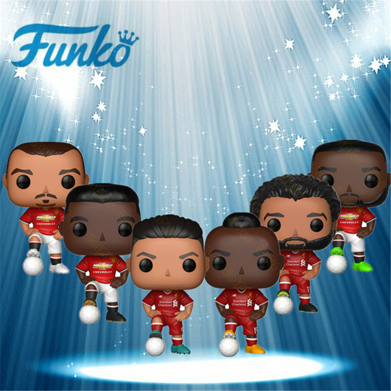 FUNKO POP Premier League World Cup Football Star Roberto Manisa RACH Sports Star Action Figure Collectible Model Toys for Fans