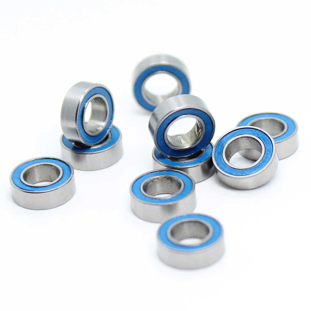 Mr95rs rolamento ABEC-3 (10 pces) 5*9*3mm miniatura MR95-2RS rolamentos de esferas rs mr95 2rs com azul selado L-950DD