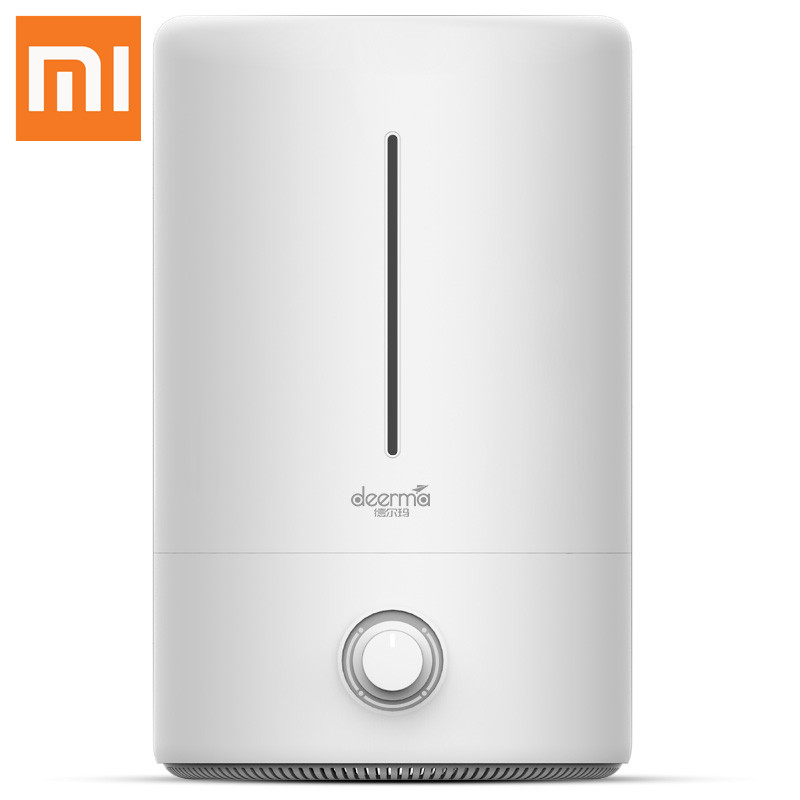 Xiaomi Deerma 5L Large Capacity Radiation-free Antibacterial Air Humidifier For Home Office 350ml Large Fog Diffuser Mist Maker