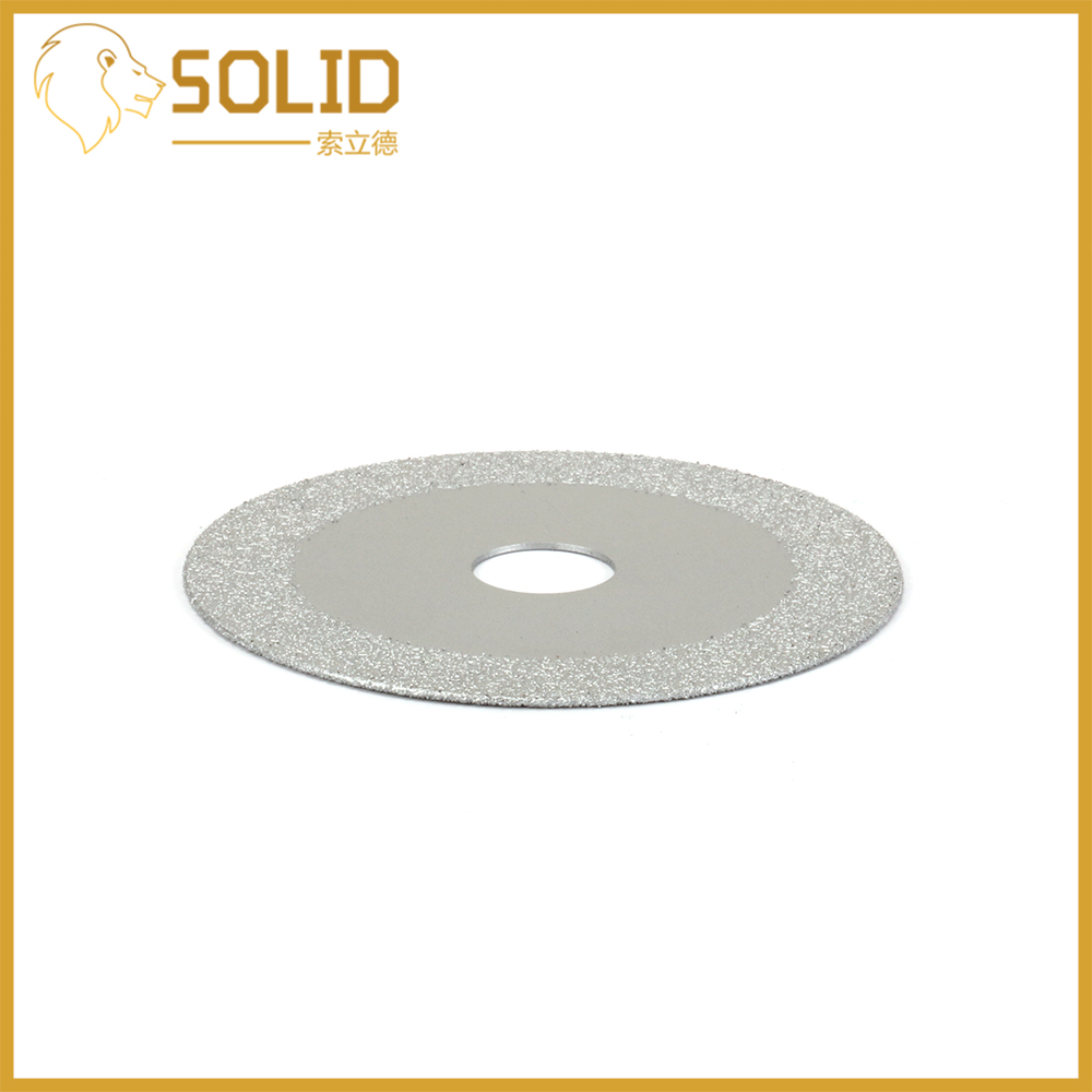 100mm 4'' Diamond Saw Blade Grinding Disc Cutting Wheel For Stone Glass Marble Jade Ceramic Slate Granite Grit 60
