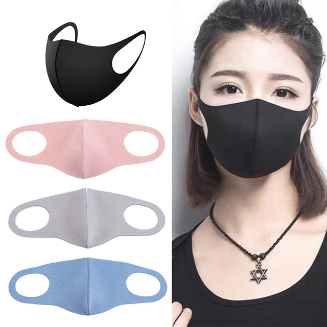 4 Pieces Anti Flu Pollution Mouth Mask Reusable Dust Proof Face Mask 3