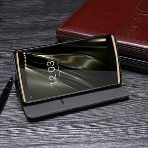 Image 3 - Für Oukitel K7 Pro Fall Luxus Retro Niet Brieftasche Flip Leder Telefon Fall Für Oukitel K7 Power Abdeckung Coque Zubehör