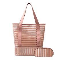 PVC Transparent Swimming Bag Gym Clear Tote Handbags Beach Pool Swim Storage Bags For Women Tavel Waterproof Swimming Bag XA233A
