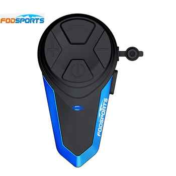 Fodsports BT-S3 motorcycle helmet intercom 1000M wireless bluetooth headset waterproof BT interphone intercomunicador moto FM - DISCOUNT ITEM  32% OFF All Category