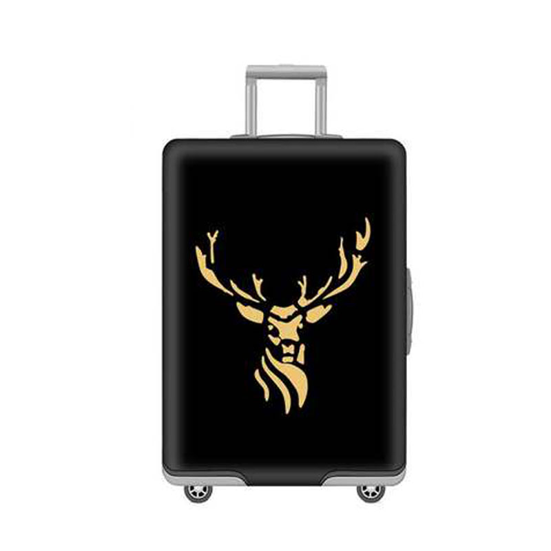 JATRAVEL Cartoon Bucks Travel Thickest Elastic Luggage Suitcase Protective Cover, Apply To 18-32inch Cases, Travel Accessories