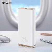 Baseus 빠른 충전 3.0 20000mAh 전원 은행 USB C PD 5A SCP Powerbank 화웨이 Xiaomi 아이폰에 대 한 휴대용 외부 배터리 충전기