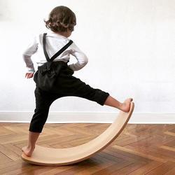 Kinderboard Защита окружающей среды построить баланс не выцветает деревянная доска для балансировки для малышей детей подростков взрослых