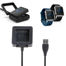 USB Charging Cable Replacement Charger For Smart Fitness Watch Fitbit Blaze R9UA