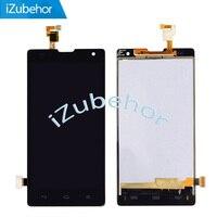 % 100% Garanti LCD Huawei Onur Için 3C G740 LCD ekran + dokunmatik ekran digitizer Cam Meclisi Tarafından ücretsiz kargo