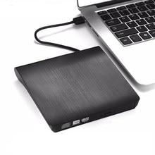 Lecteur optique USB 3.0 DVD-ROM lecteur de disque CD-ROM externe mince ordinateur de bureau ordinateur portable tablette Promotion lecteur DVD