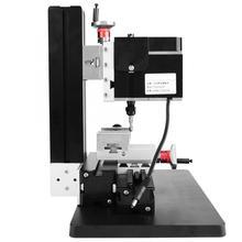 60W 12000R מיני כרסום מחרטה מתכת נגרות מחרטה DIY מיניאטורי רגיל ידני כרסום מכונת Y Z סרן מיני מילר
