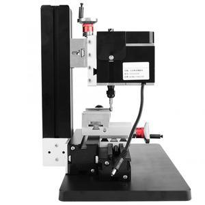 Image 1 - 60W 12000R Mini Milling Lathe Metalworking Woodworking Lathe DIY Miniature Normal Manual Milling Machine Y Z Axle Mini Miller